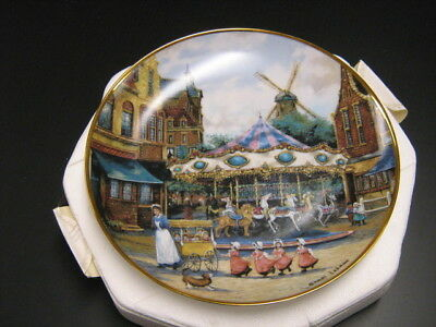 Carousel Adventures - Sandi Lebron - Franklin Mint Collector Plate