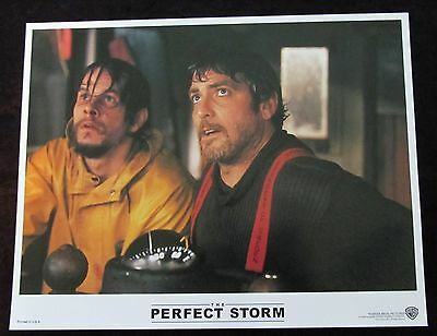 THE PERFECT STORM  lobby card # 3 MARK WAHLBERG, GEORGE CLOONEY