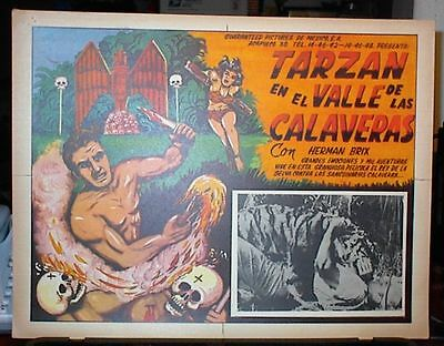 50 Different TARZAN Lobby Cards from appx 45 Films, 1930s-1980s, Brix,Crabbe,etc