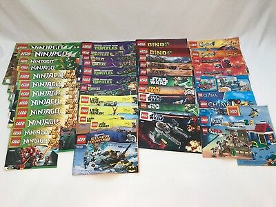 Lego Instruction Manual Lot 15 Books Star Wars City More 2000