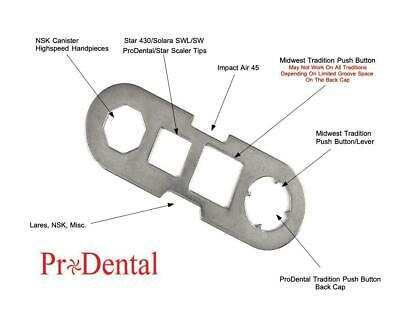 STAR MIDWEST Lares NSK Impact Universal High Speed Back Cap Wrench - ProDental