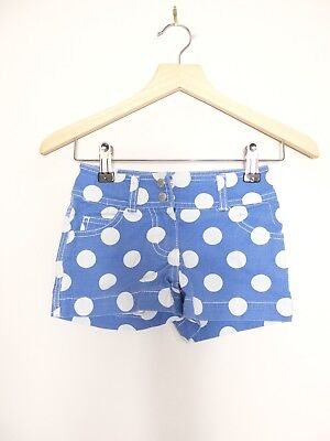 Blue Mini Boden Heart ❣ Pocket Polka Dot Shorts Age 5