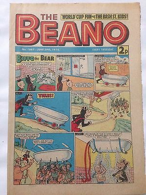 DC Thompson THE BEANO Comic. Issue 1667 June 29th 1974 **Free UK Postage**