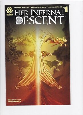 AFTERSHOCK COMICS HER INFERNAL DESCENT #1 & 2 FIRST PRINT Cover A Hot!