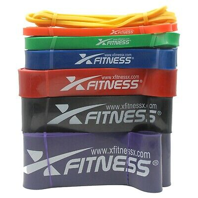 xFitness Pull Up Exercise Bands For Resistance Body Stretching Fitness CrossFit