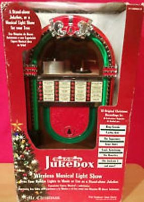 rare mr christmas rock o rama jukebox wireless