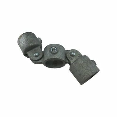"""1"""" Speed Rail Double Adjustable Cross Fits Pipe O.D. 1-3/8"""""""