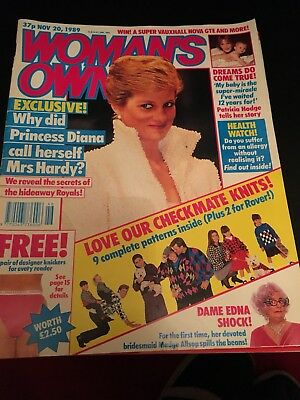 Woman's Own Magazines 1989, 1990, 1996