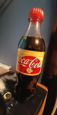 Coca cola vanilla bottles summer edition still full not expired