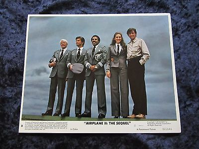 AIRPLANE II THE SEQUEL lobby cards  - mini set of 8