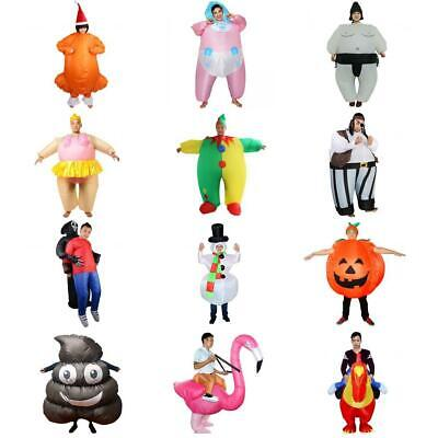 Adult Kids Inflatable Costume Suit Halloween Christmas Party Fancy Dress