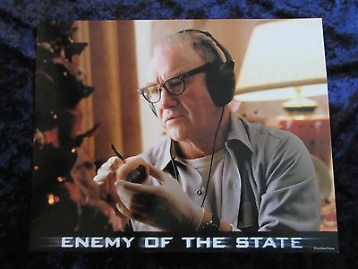 ENEMY OF THE STATE lobby card # 7 -  GENE HACKMAN