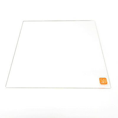 330mm x 330mm Borosilicate Glass Plate Bed Flat Polished Edge for 3D Print