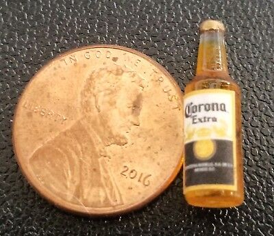 Dollhouse Miniature Replica Bottle of Bacardi Rum ~ G104