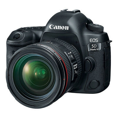 NEW Canon EOS 5D Mark IV 30.4MP DSLR Camera with EF 24-70mm f/4L IS USM Lens