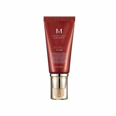 [Missha] M Perfect Cover BB Cream 50ml # 27 SPF42 PA+++ Korean Cosmetic Makeup