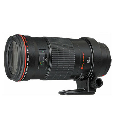 NEW Canon EF 180mm f/3.5L Macro USM Lens For EOS 1 Year Warranty