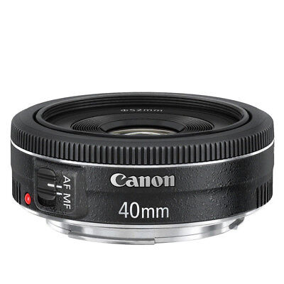 NEW Canon EF 40mm f/2.8 STM Lens For EOS 1 Year Warranty