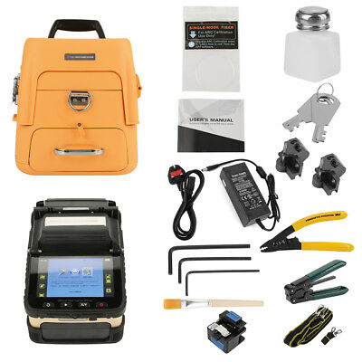 "Ai-8 3 in1 Automatic Optical Fiber Cleaver Fusion Splicer Machine 5"" TFT Display"