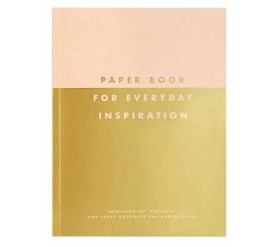 NEW/SEALED KIKKI K Paper Lovers Book Inspiration Peach Ft. Tags Stickers Bunting