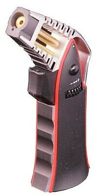 """Scorch 6"""" Premium Lighter, Refillable Teal or Red Butane Torch ST-61470"""