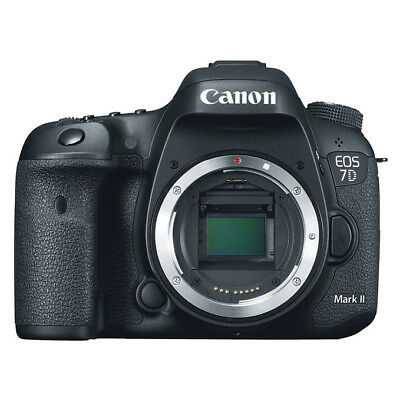 NEW Canon EOS 7D Mark II 20.2MP DSLR Camera BODY (KIT BOX)