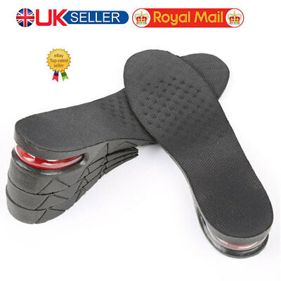 4 Layer Adjustable Height Increase Insole Heel Lift Gain Altitude Shoe Pad #nt
