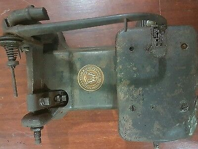 WHEELER & WILSON Mfg.Co.Bridgeport conn USA labelled Sewing Machine Part 1870-80