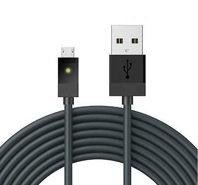 2.7m Micro USB Charging Cable lead For XBOX ONE Controller Play & Charge