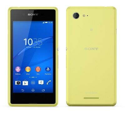 Sony XPERIA E3 in Green Handy Dummy Attrappe - Requisit, Deko, Werbung, Muster