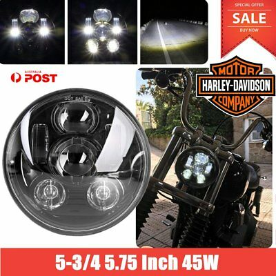 """5.75"""" LED Projection Daymaker Headlight For Harley Sportster XL 883 1200 Dyna FK"""