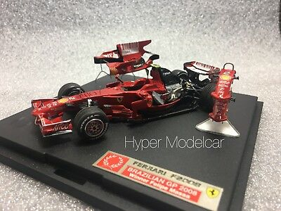 Tameo Kit 1/43 F1 Ferrari F2008 #2 Winner Brazilian Gp 2008 F. Massa
