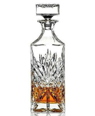 Decanter Vintage Glass Liquor Whiskey Crystal Bottle Wine Stopper Scotch Bar