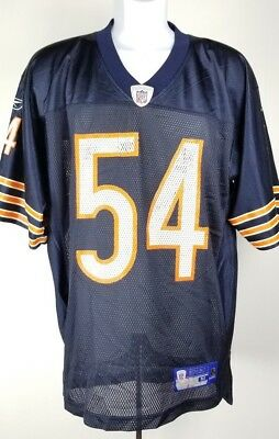 a2eb7946d Brian Urlacher Chicago Bears Reebok Jersey M  54 Blue Orange Football NFL