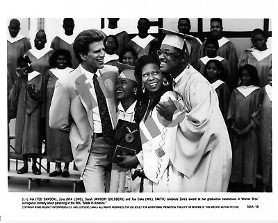 Made In America Movie Still 3 B&W Photos Ted Danson Whoopi Goldberg