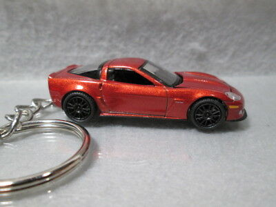 2011 CHEVY CORVETTE ZO6  CUSTOM MADE DIE-CAST KEY CHAIN KEYCHAIN KEYRING FOB mkc