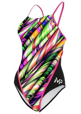 MP Michael Phelps Girls Margareta Racerback Swimsuit