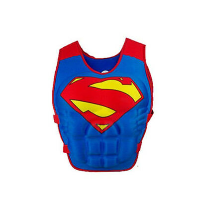 1X Kid Swimming Floating Swim Vest Buoyancy Life Jacket Pool Tool For superman