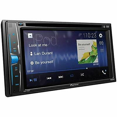"Pioneer AVH-210EX 6.2"" LCD Double 2 DIN Touch Screen CD DVD Player Bluetooth"