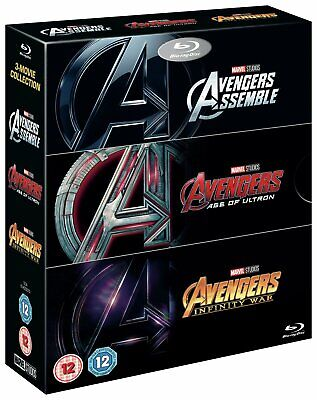 Avengers: 3 Movie Collection Blu-Ray DVD