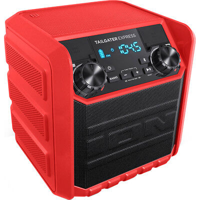 Ion Audio Tailgater Express 20w Water Resistant Bluetooth Compact Speaker System