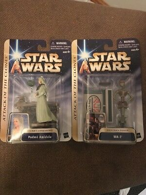 2003 Star Wars Attack of the Clones Two Figure Collection