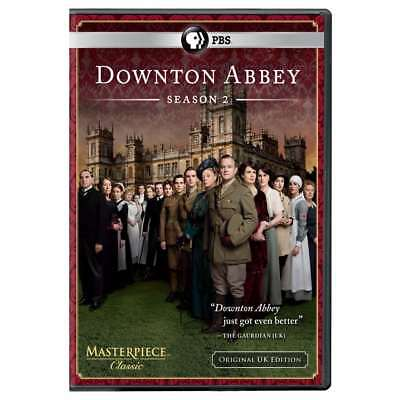 New: DOWNTON ABBEY - Season 2 [Original UK Edition] 3-DVD Set