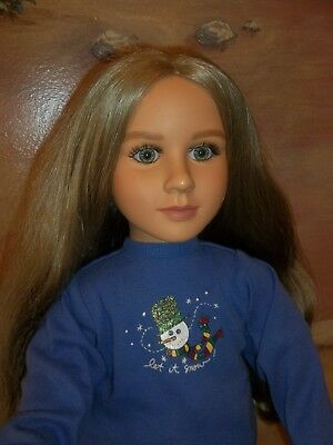 "Denver 1997 - 99 My Twinn POSEABLE AUDREY 23"" Doll Blonde Wavy Hair Hazel Eyes"
