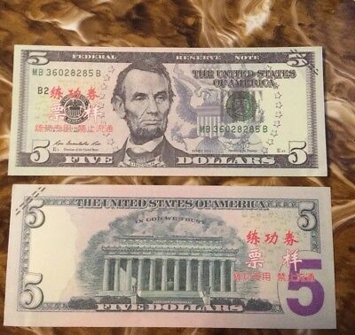 Prop Money $5s x10=50.00