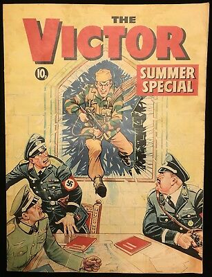 Victor Summer Special 1971 - Holiday Action - DC Thomson - Awesome Cover