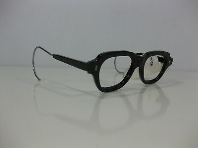 Vintage Military Issue Black Eyeglass Frames Russian N.O.S. Small Size