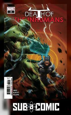 DEATH OF INHUMANS #3 (MARVEL 2018 1st Print) COMIC