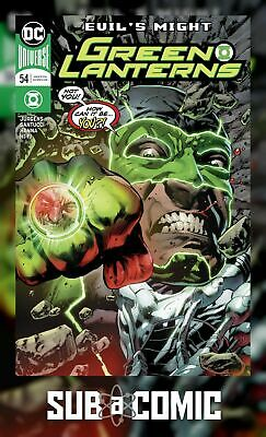 GREEN LANTERNS #38 MAIN COVER DC REBIRTH 1st PRINT NM 1ST APPEARANCE RED TIDE