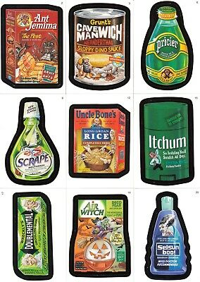 Wacky Packages A New Series 5 2007 Topps Complete Back Variation Set Of 28 Sf